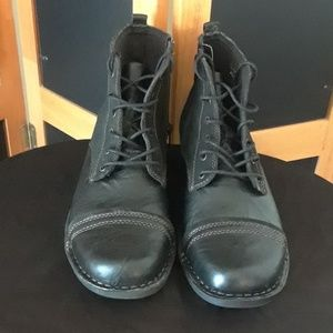Men's Clarks Leather Ankle Boots